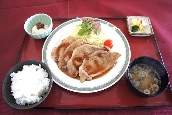 豚の生姜焼き(きたかん特製オリジナルソース)