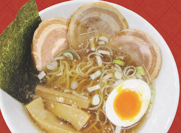 特製チャーシュー麺(味玉付)