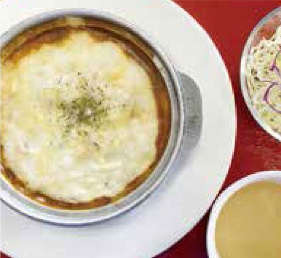 モッツァレラチーズ焼カレー